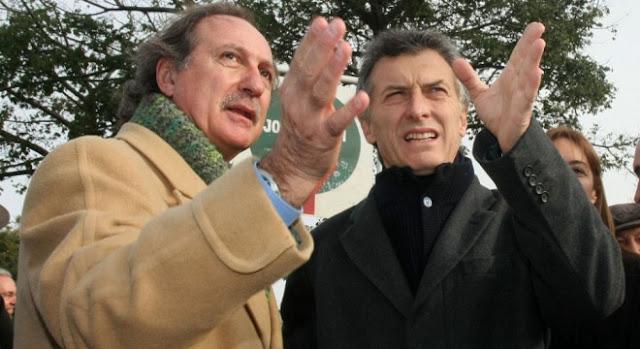 MAURICIO MACRI, ALFONSO PRAT GAY