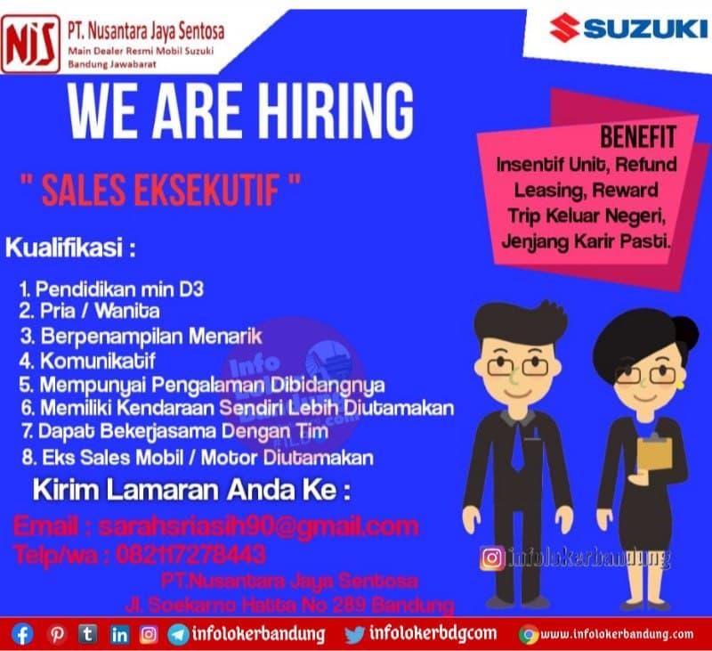 Lowongan Kerja PT.Nusantara Jaya Sentosa (NJS)  Bandung Februari 2021