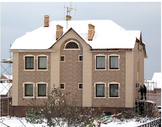 Вентфасад для коттеджа, частного дома из фиброцемента