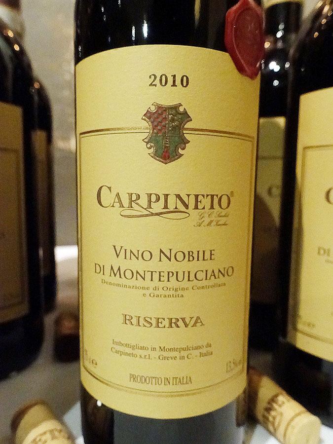 Carpineto Vino Nobile di Montepulciano Riserva 2010 (92 pts)