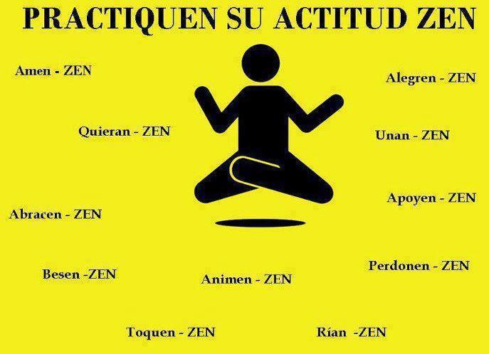 Frases De Actitud Fuerte: FRASES CORTAS BONITAS: Practiquen Su Actitud Zen