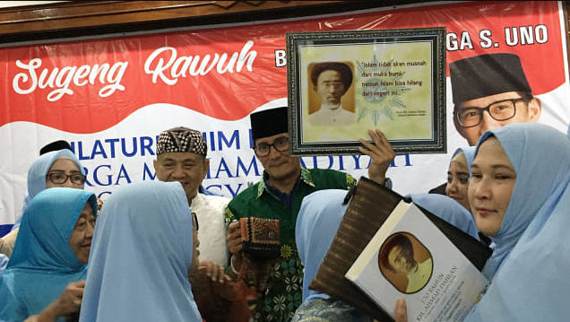 Keluarga Besar Pendiri Muhammadiyah KH Ahmad Dahlan Dukung Prabowo-Sandi