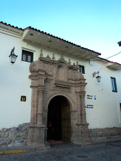 Entrada do Hotel Monastério, Cusco
