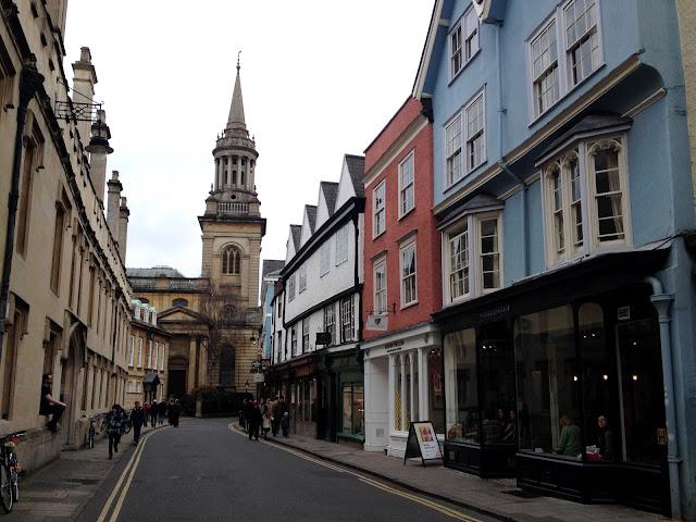 Paseo por Oxford