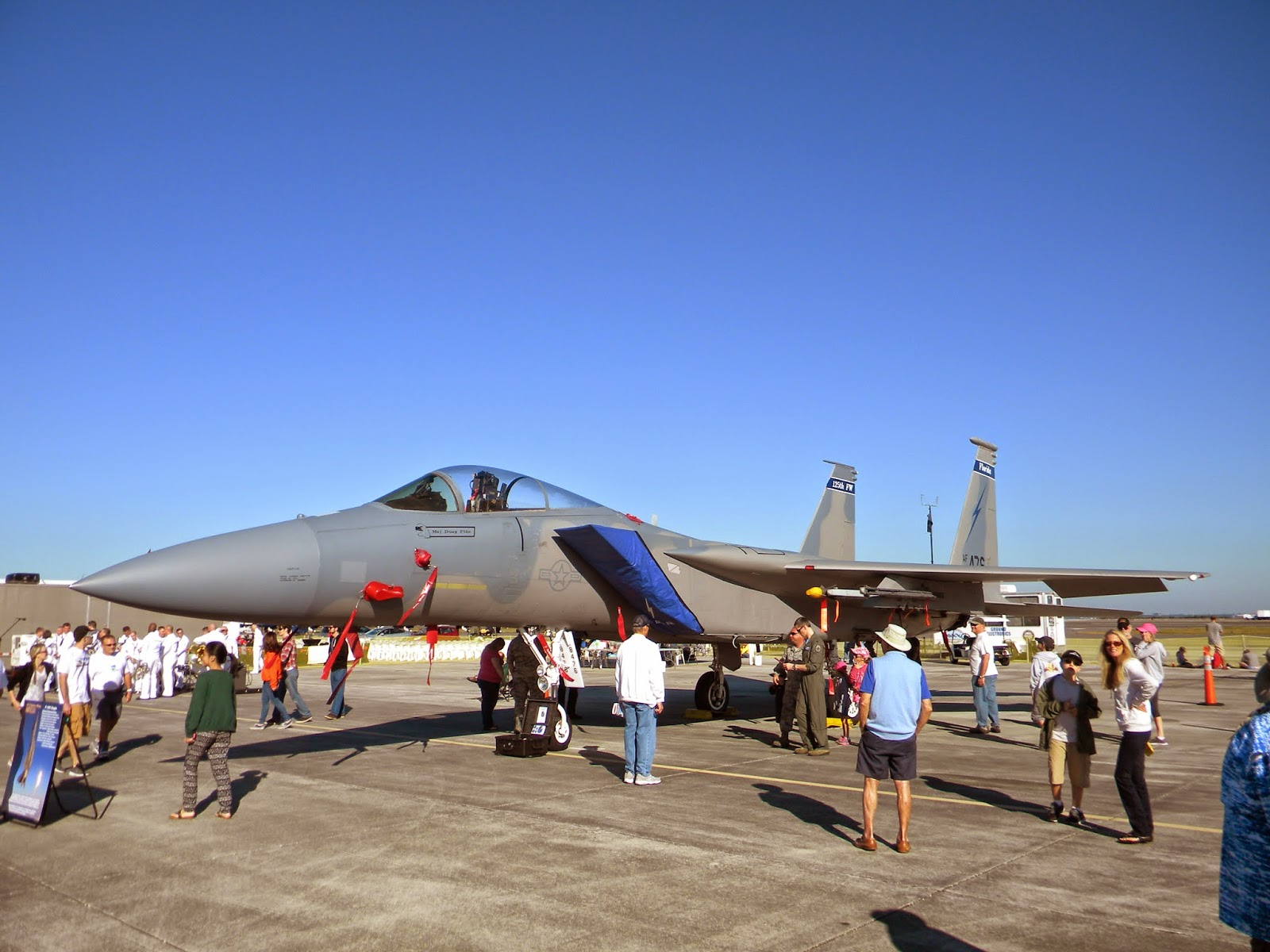 F-15 static display