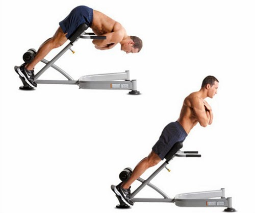تمارين تحديد عضلات الظهر
