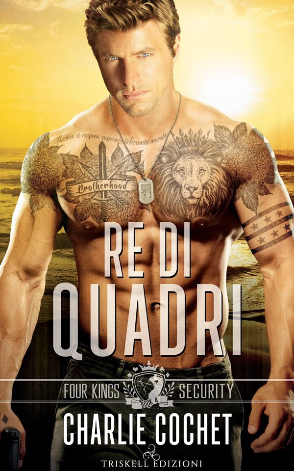 "Libri in uscita: ""Re di quadri"" (Serie Four Kings Security #4) di Charlie Cochet"