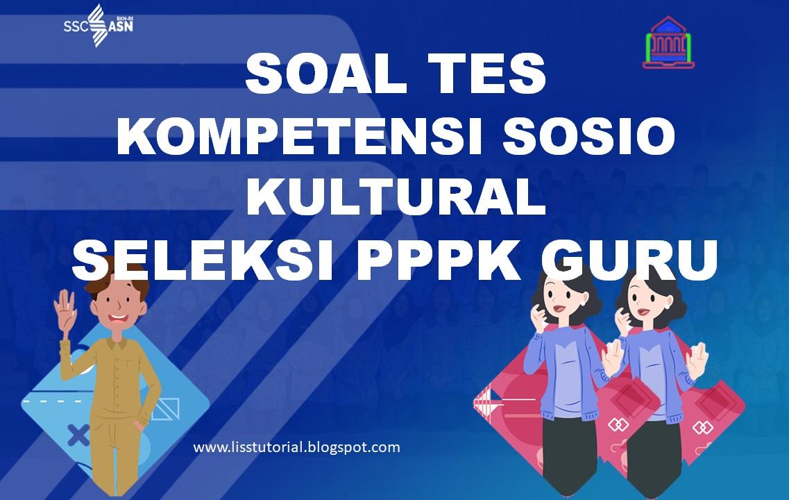 Kompetensi Sosio Kultural Seleksi PPPK Guru