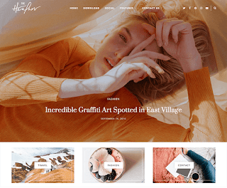 Heather Blogger Template