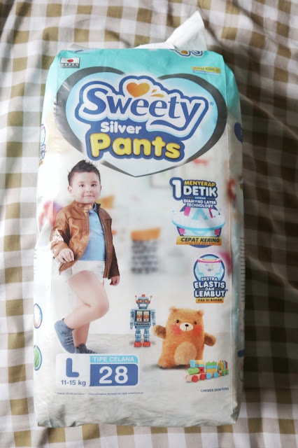 Review Sweety Silver Pants