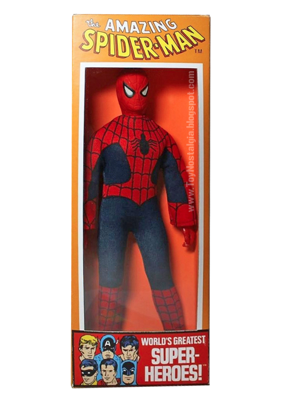 Mego Spider-Man 8 inches - 1973 - Box   (MEGO - World's Greatest Super Heroes!)