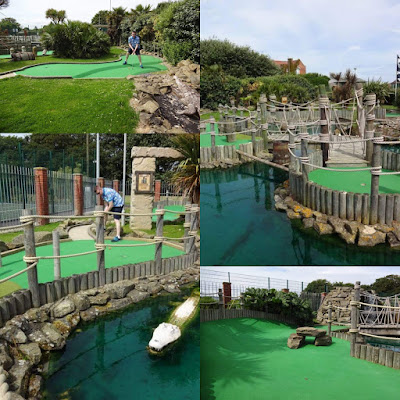 Adventure Island Crazy Golf in Mundesley, Norfolk