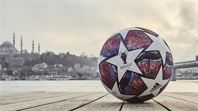الكشف عن كرة نهائي دوري الأبطال الأوروبي 2020