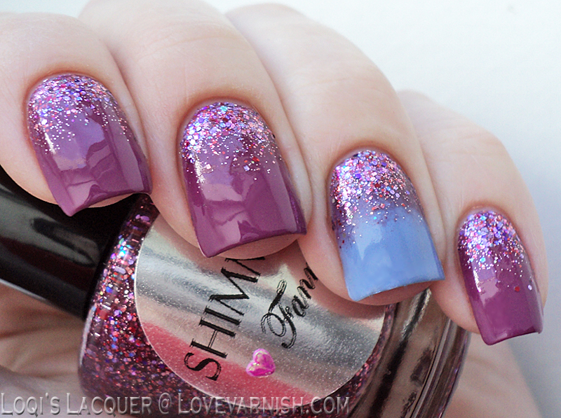 Love Varnish: 31 Day Nail Art Challenge Glitter Nails!