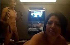 Puta Madura Mexicana Infiel en el Hotel