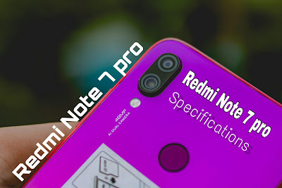 Redmi note 7 pro features and specifications