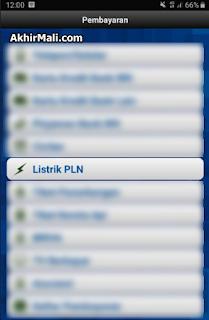 Listrik PLN Internet Banking BRI