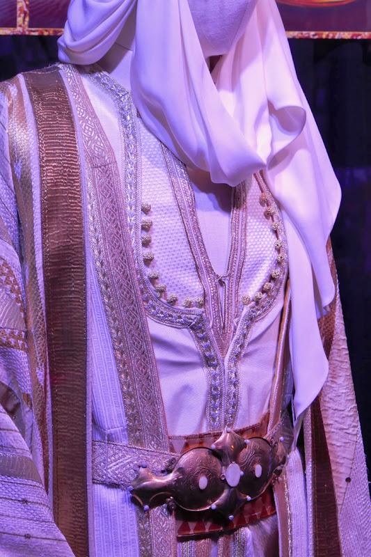 Prince Ali costume detail Aladdin