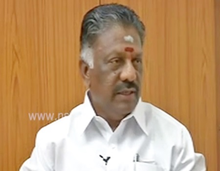 EXCLUSIVE: Interview with O.Panneerselvam 08-02-2017