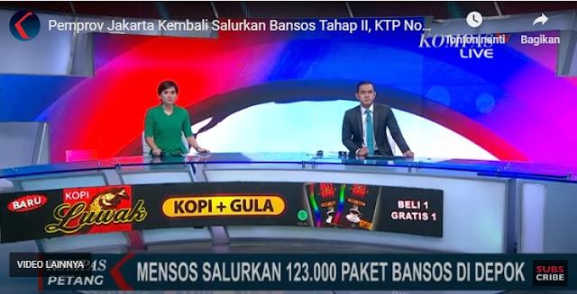 Pemprov Jakarta Kembali Salurkan Bansos Tahap II, KTP Non DKI Tak Dapat