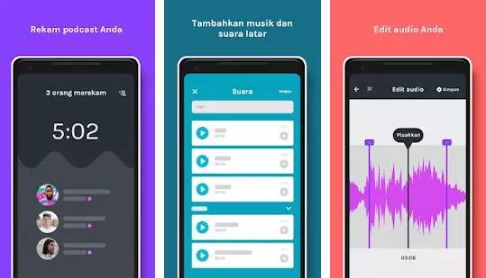 aplikasi podcast creator terbaik untuk Android dan iOS-1