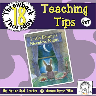 Little Bunny's Sleepless Night Teaching Tips - TBT