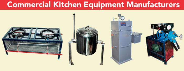Kitchen equipment manufacturers in India