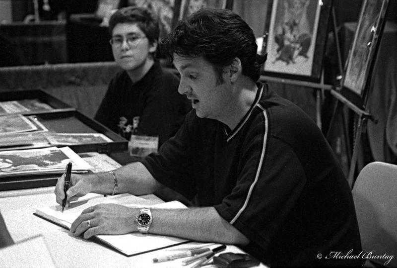Jeff Smithi, San Diego Comic-Con International 2000