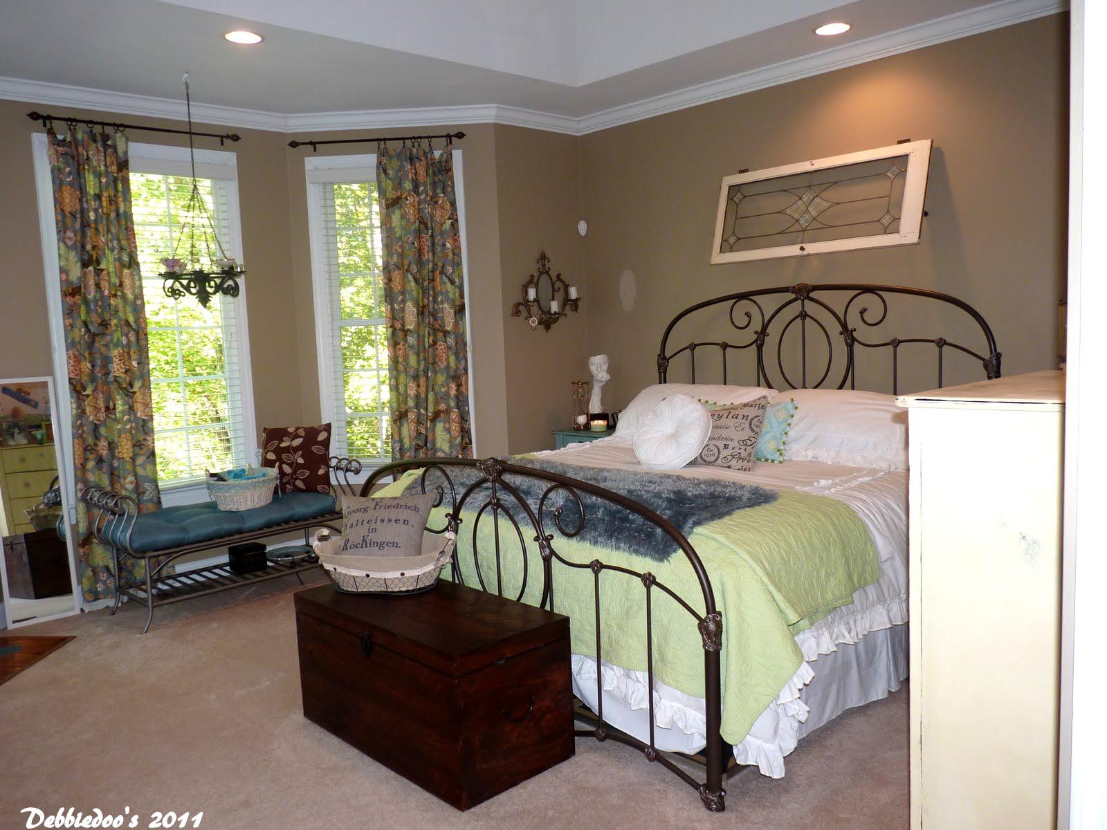 Pottery barn inspired master bedroom shabby chic style - Pottery barn master bedroom ideas ...