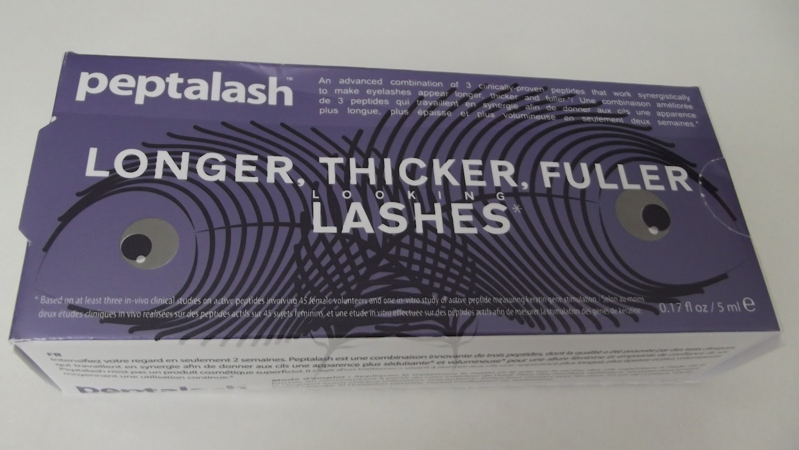 Peptalash: Longer, thicker, fuller lashes in just two weeks