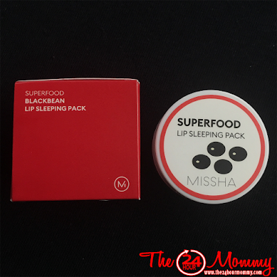 MISSHA Superfood Lip Sleeping Pack review