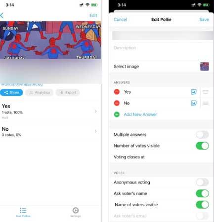 aplikasi ios dan android terbaik untuk membuat polling dan survey