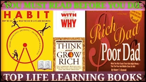 Top Life Learning Books You Must Read Before You Die