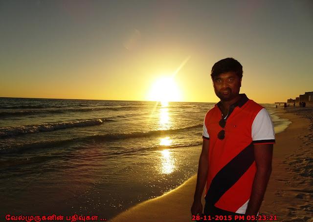 Florida - Destin Beach Sunset View