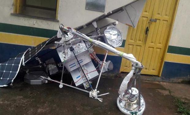 Mais um satélite da Google que caiu no Brasil