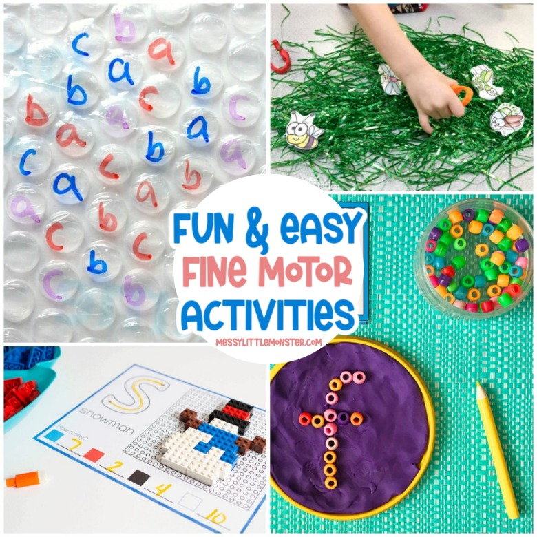 fun and easy fine motor activities