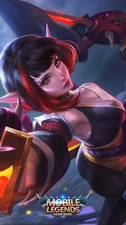 Karina Spider Lily Heroes Assassin Mage of Skins V3
