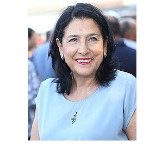Georgia elects first female president