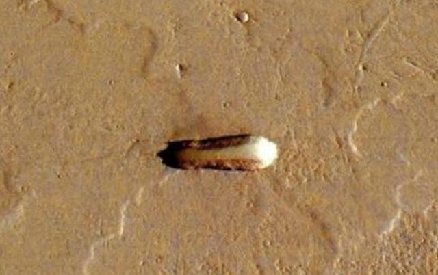 Screenshot of the Mars spacecraft.
