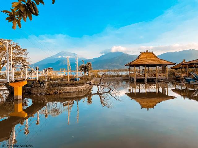 Spot foto di kampung Rawa Ambarawa