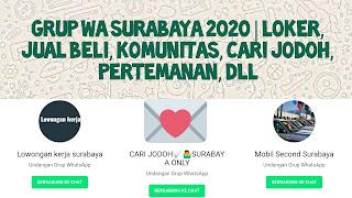 Grup WA Surabaya