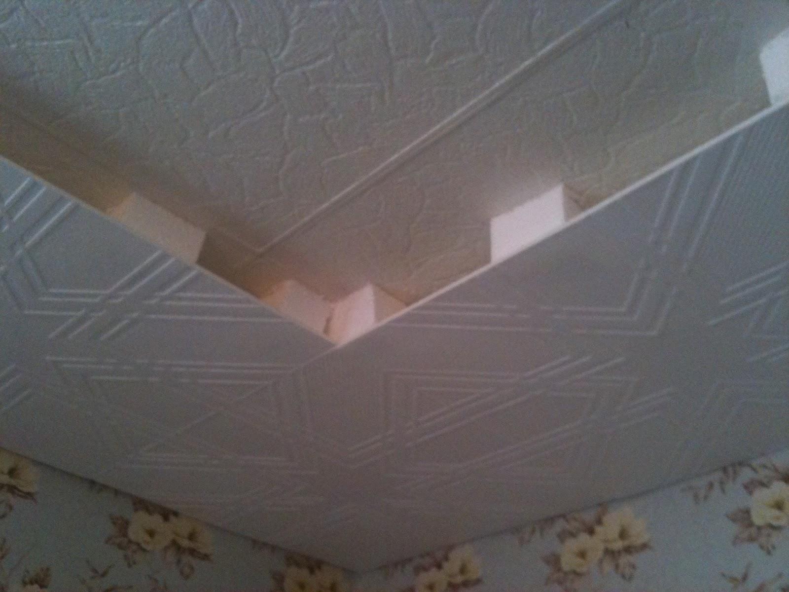 Потолок своими руками дешево