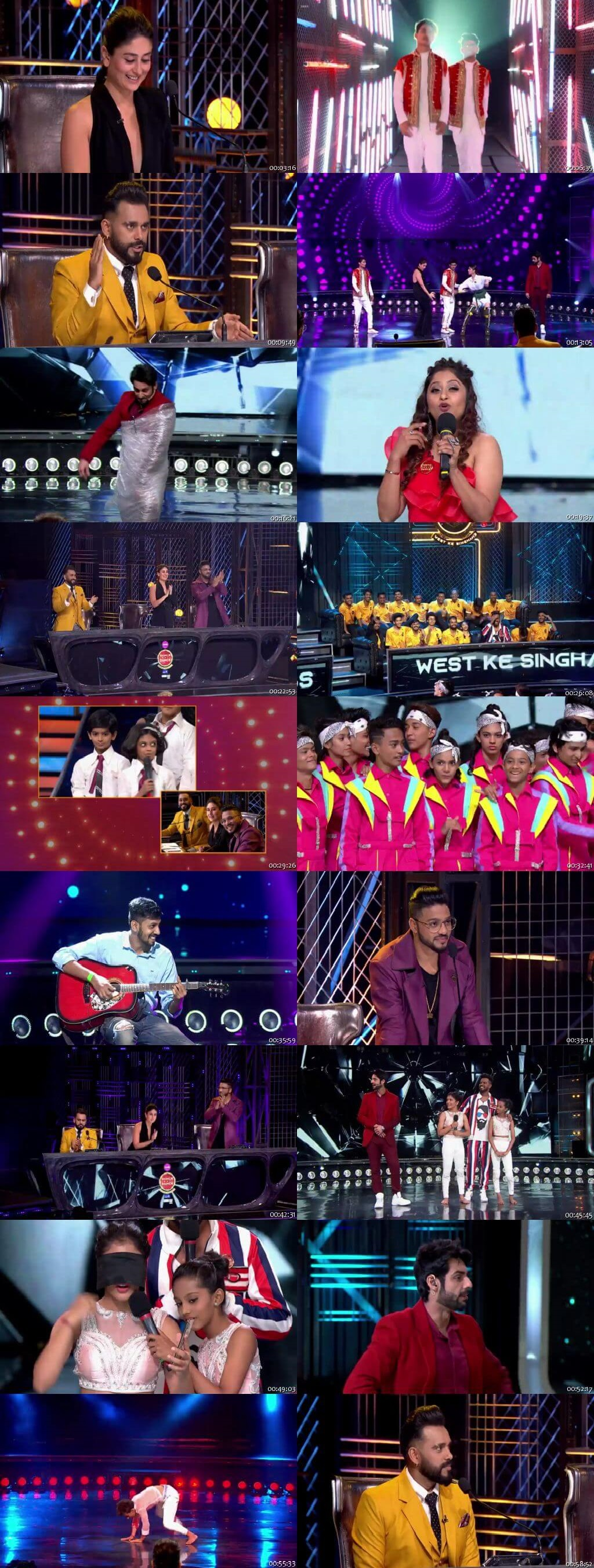 Screenshots Of Hindi Show Dance India Dance Battle of the Champions Season 7 3rd August 2019 Episode 13 300MB 480P HD