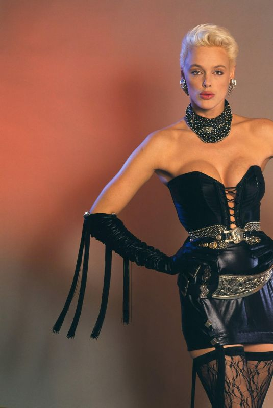 Brigitte Nielsen Snapped For a Photoshoot, 1987