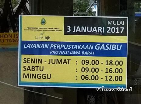 Peprustakaan Lapangan Gasibu Bandung