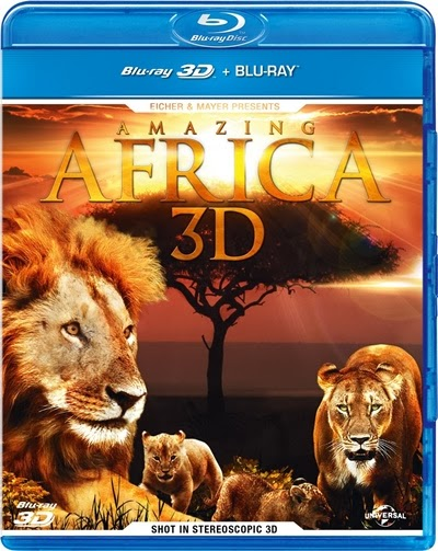 Amazing Africa 3D SBS Latino