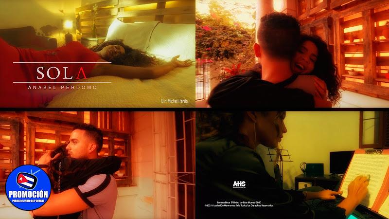 Anabel Perdomo - ¨Sola¨ - Videoclip - Director: Michel Pardo. Portal Del Vídeo Clip Cubano. Música cubana. Canción. Cuba.