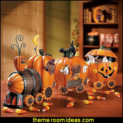 The Pumpkin Express Train - Decorative Accessories