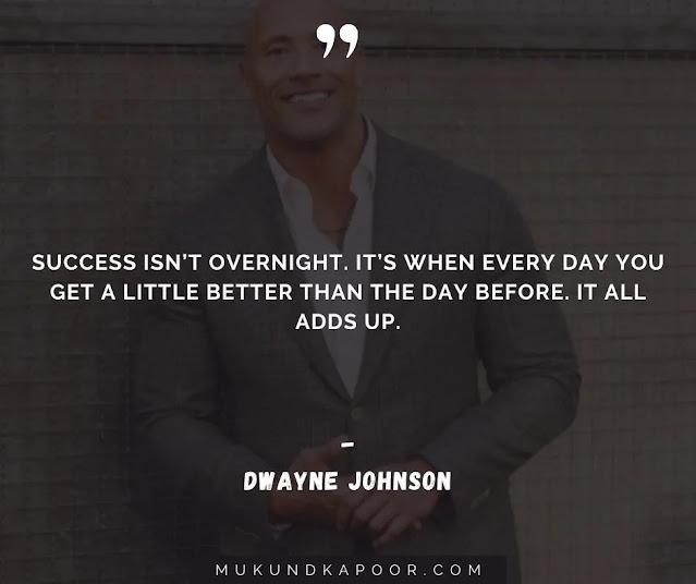 dwayne johnson famous quotes