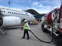 Permintaan Bahan Bakar Pesawat Menurun, Pertamina Tetap Jaga Stok Avtur